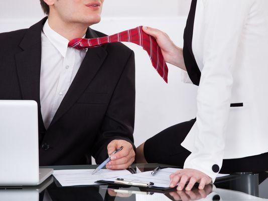 Acososexual en el trabajo