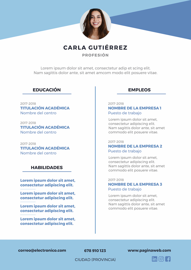 "Template_CV ""width ="" 640 ""height ="" 905 ""srcset ="" https://deempleo.net/blog/wp-content/uploads/2018/10/Plantilla_CV_5.jpg 640w, https://deempleo.net/blog/ wp-content / uploads / 2018/10 / Template_CV_5-212x300.jpg 212w ""sizes ="" (max-width: 640px) 100vw, 640px ""/></p> <h2><b>Fill a curriculum vitae</b></h2> <h3><b>Profession</b></h3> <p><span style="